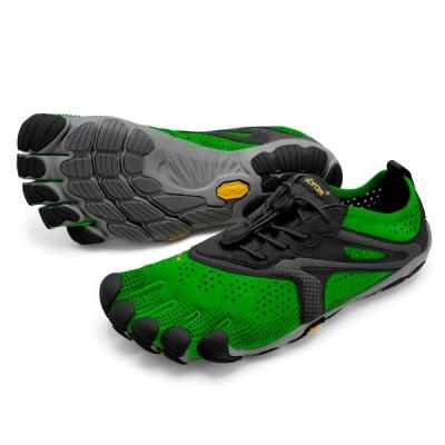 Vibram V-RUN MEN green / black