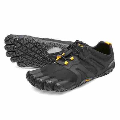 Vibram V-Trail 2.0 Men Black/Yellow
